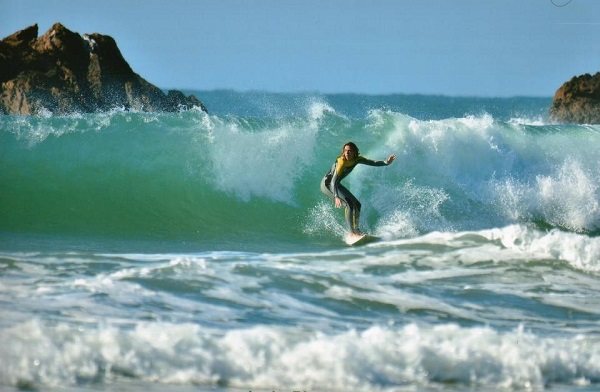 El surf ha sido, incluso, un camino para llegar a Dios y descubrir su vocación como supernumeraria del Opus Dei.