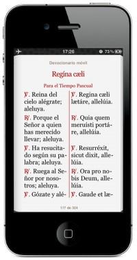 Den spanska versionen på en Smarttelefon