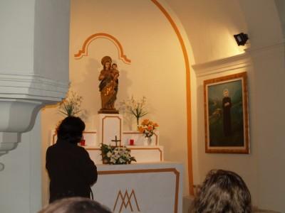 Devoción a la Virgen del Rosario de Pallerols y San Josemaría