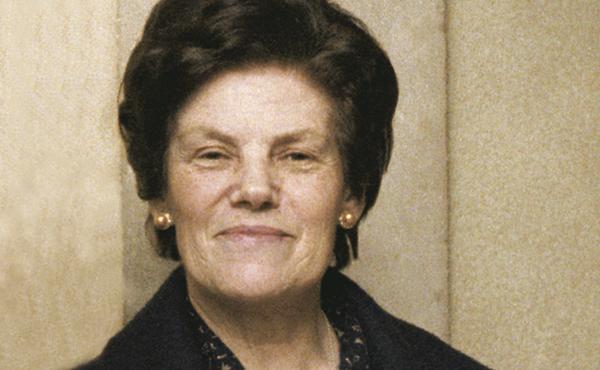Dora del Hoyo, uma profissional do lar