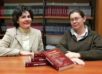 Las dos profesoras de la Universidad de Navarra.