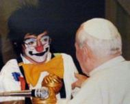 El payaso que hizo reír a Juan Pablo II
