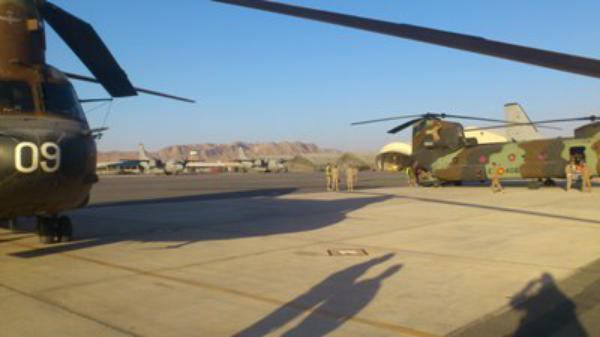 Amistad en una base militar en Afganistán