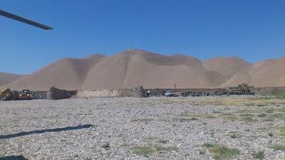 Base de Bala Murgha, a uns 200 kms. de Herat