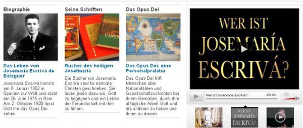 Siti Web di San Josemaría in Croato e Olandese