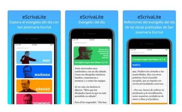 Opus Dei - La creación de 'eScrivaLite App'