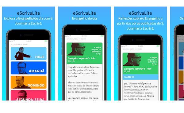 eScrivaLite: um aplicativo para rezar com o Evangelho do dia
