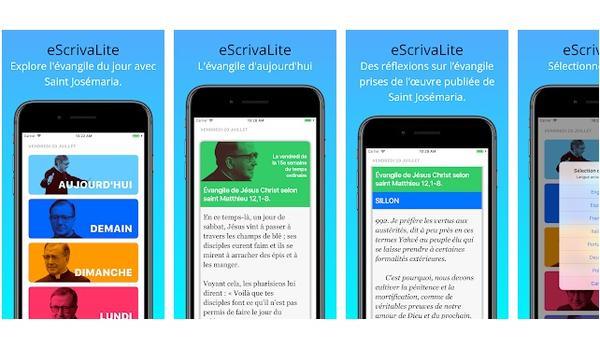 Création de « eScrivaLite App »