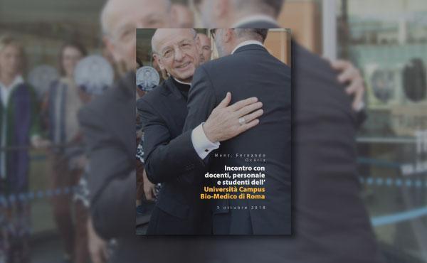 Il prelato dell'Opus Dei al Campus Bio-Medico, ebook gratuito