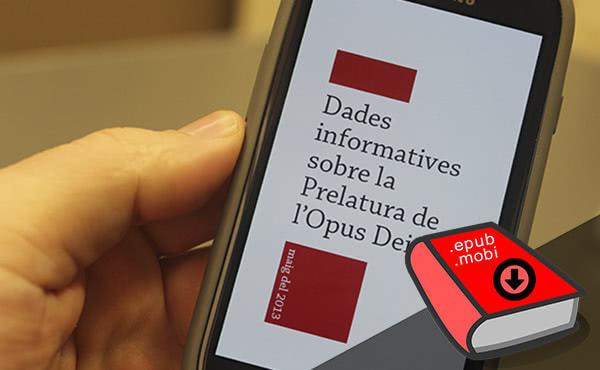 """Opus Dei - El """"Dades informatives de l'Opus Dei"""" en ePub"""