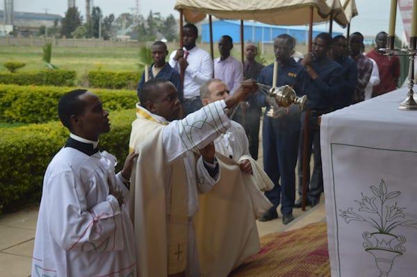Opus Dei - First Corpus Christi Procession in ECT, Nairobi