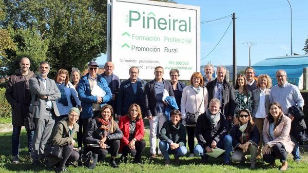 O modelo de formación das Efas galegas interesa en Europa