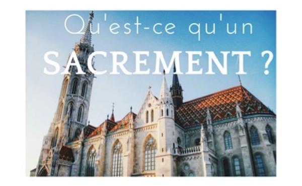Opus Dei - Qu'est-ce qu'un sacrement ?Quels sont les sacrements de l'Église ?