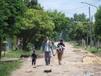 El barrio Los Ceibos, en González Catán