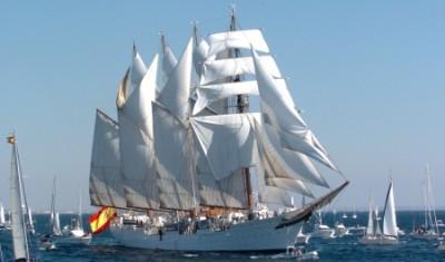 Nel 'Juan Sebastián Elcano' José Antonio ha fatto la sua carriera navale.