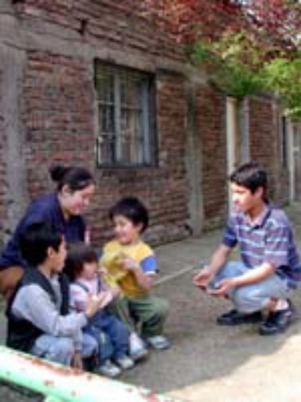 El Salto, en un barrio marginal de Santiago de Chile