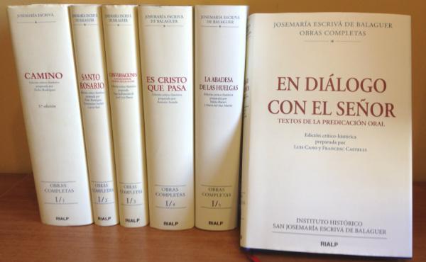Opus Dei - Se publica «En diálogo con el Señor», textos inéditos de la predicación oral de san Josemaría