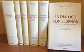 Publicado «Em diálogo con o Senhor», livro com textos inéditos da pregação oral de S. Josemaria