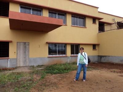 La próxima casa de convivencias en Mehandan, a las afueras de Yaundé (Camerún)
