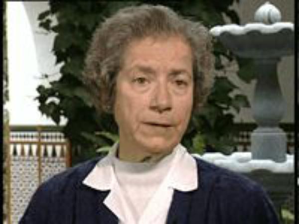Zuster Carmen Esqueta, verpleegster