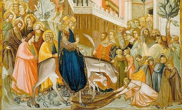 Komentarz do Ewangelii: Uroczysty wjazd do Jerozolimy