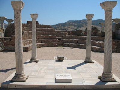 L'eglise saint Jean, à Ephèse