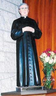 Imagem de São Josemaria na igreja de Santa Helena de New Jersey (EUA)