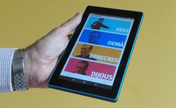 L'App eScrivaLite ara en català
