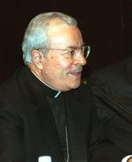 """Intervención del Nuncio durante la presentación del libro """"Josemaría Escrivá, 1902-2002"""""""