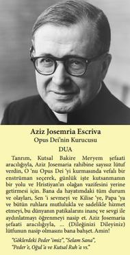 Der Gebetszettel auf türkisch