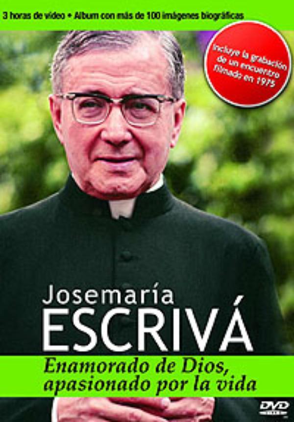 San Josemariaren bizitza biltzen duen DVD-ko 1500 ale, Euskadiko 850 kioskotan salgai