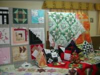 Algunas de las obras realizadas por las alumnas de los talleres