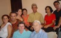 Zezinha e sua família