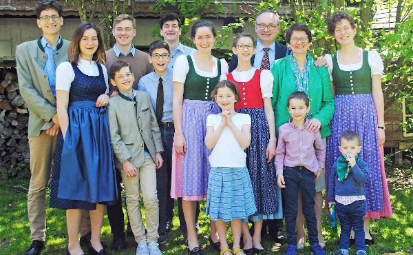Opus Dei - Unser Familienleben in Coronazeiten