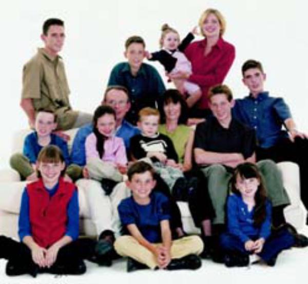 Velike družine: obilo dela in veliko veselja