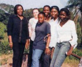 As 'mozas da hixiene' do Congo