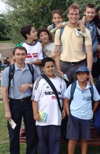 En Faunia, con los chicos de Quintana