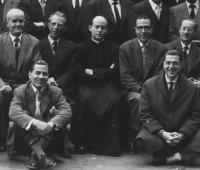 Mn. Francesc, després d'un recès que ell mateix va predicar a Lleida, als anys 50.