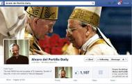 Alvaro del Portillo in Facebook, Twitter and Smartphone app