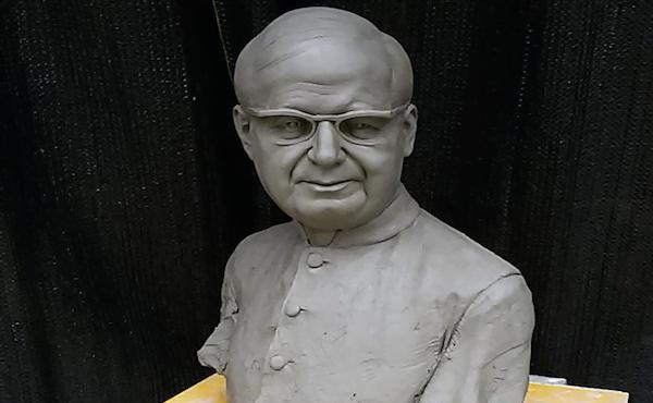 Opus Dei - Il primo busto di san Josemaría in Sicilia