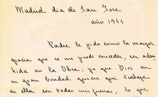 Opus Dei - Guadalupin poziv: danas - prije 75 godina