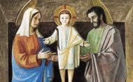Molitev papeža Frančiška za družino