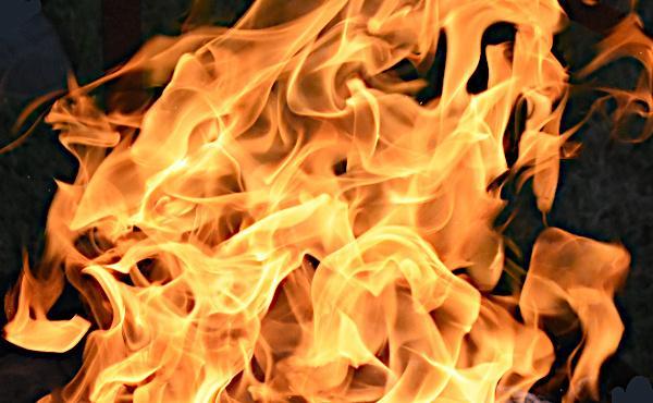 Comentario al Evangelio: El fuego de Dios
