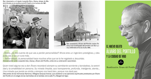 Opus Dei - Álvaro del Portillo en Vigo (folleto)