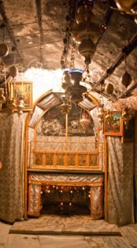 Miejsce, w którym narodził się Jezus.