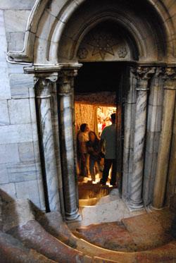 Escales de sortida de la gruta. Foto: Alfred Driessen.