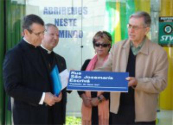 São Josemaria ganha rua em sua homenagem em Porto Alegre