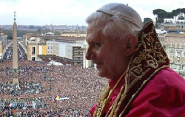 El Papa toma posesión de la cátedra de obispo de Roma
