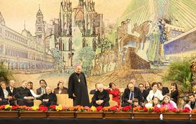 Pertemuan dengan Bapa Prelat Opus Dei di Sao Paulo, Brasil