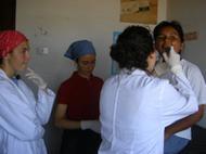 Studentesse volontarie nei villaggi peruviani